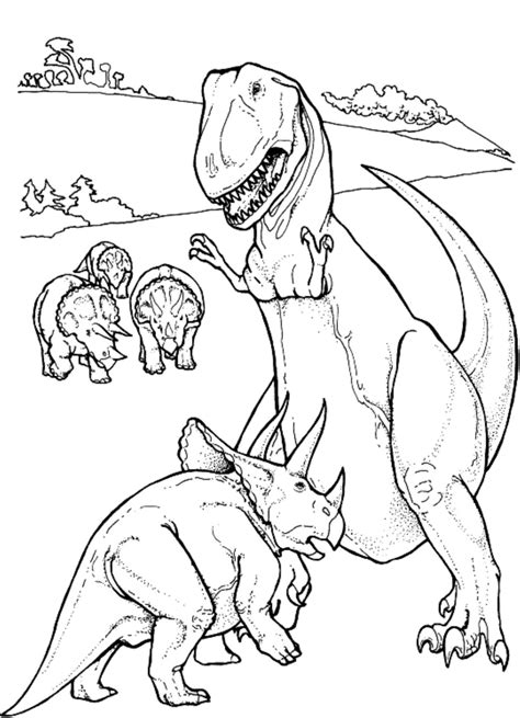 minecraft dinosaurs coloring pages print download dinosaur t rex coloring pages for kids