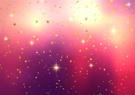 festive background  star confetti