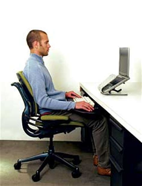 Leaning Back In Chair Posture by Choosing An Office Chair An Informed Decision For Comfort
