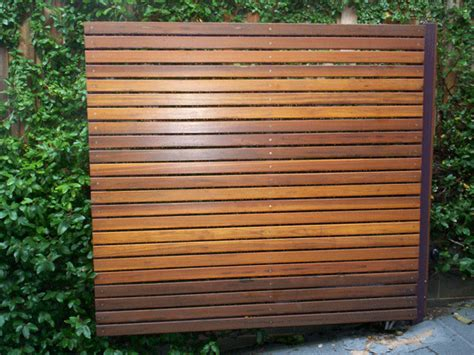Online Exterior Home Design Tool Free by Diy Plans Horizontal Slat Privacy Fences Amp Screensfree