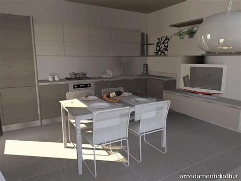 Cucina Con Soggiorno by Best Soggiorno Cucina Moderno Contemporary Home Interior