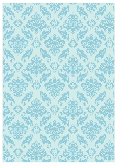 printable paper with designs blue vintage design on pale blue background printable