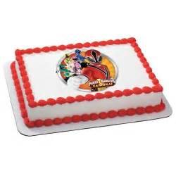 edible cake decorations power rangers samurai edible cake topper decoration children s theme