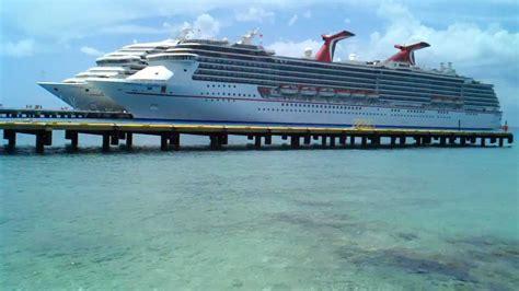 cozumel port port of cozumel mexico carnival cruise lines