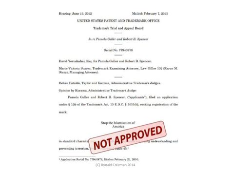 lanham act section 2 section 2 a of the lanham act trademark s law of