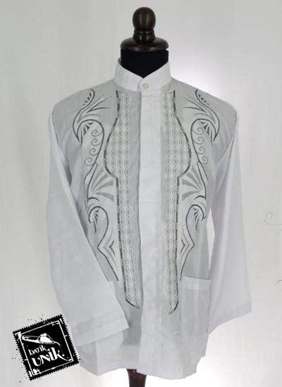 Sale Mukena Bahan Parasit Dewasa Ukuran Standar baju muslim koko panjang dewasa katun bordir koko batik