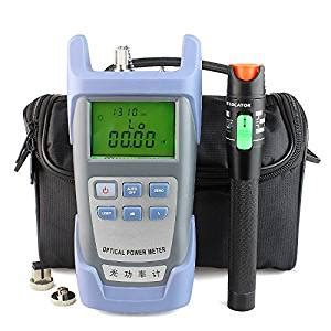 Optical Power Meter Visual Fault Locator 30mw fiber optical power meter and 20 30km 30mw visual fault locator cable tester