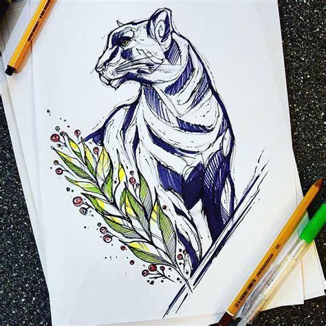 pinterest tattoo panther artist panther cat illustrations pinterest panther