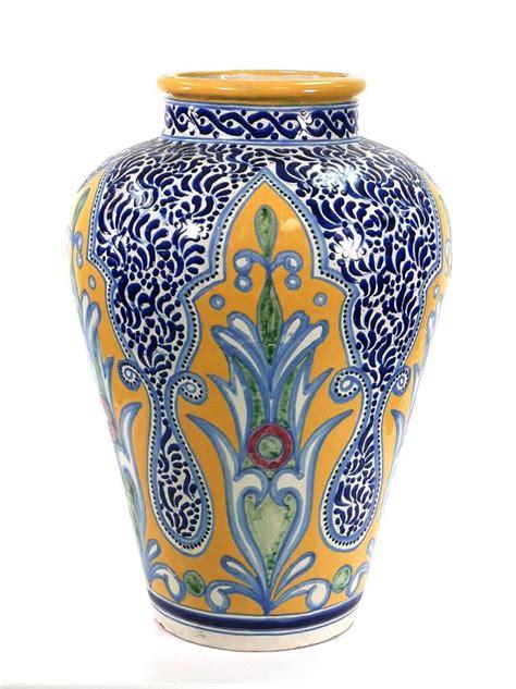 Mexican Vase 24 Quot Mexican Rugerio Talavera Pottery Floor Vase
