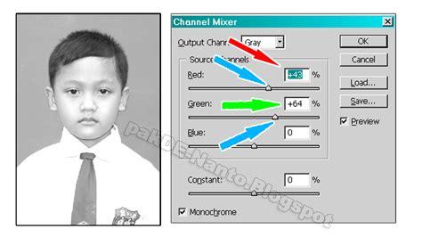 cara membuat foto hitam putih di photoshop sarahituaku