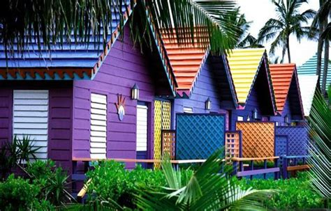 colorful exterior painting ideas adding to outdoor home decorating