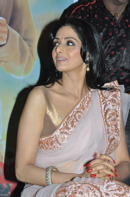 sridevi gane sridevi latest hot unseen photos in saree film