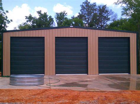 garage shops steel garages and shops prefab metal shop building kits