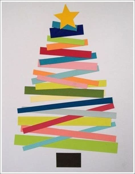 xmas tree activity out of construction paper diy construction paper tree pictures photos and images for