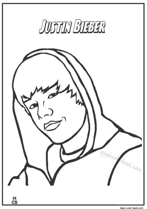 coloring pages of people s names famous people coloring pages justin bieber 02