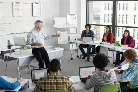 classroom arrangement research chairs and tables the classroom technology that could