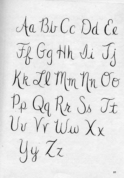 imagenes de i love you en letra cursiva alfabeto letra cursiva caligraf 237 a pinterest alphabet