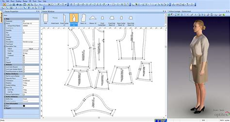 pattern design software online cad pattern making moda ling