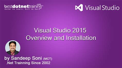 video tutorial visual studio 2015 part 1 how to install visual studio 2015 it s