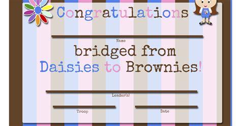 Free Bridging Certificate Printable