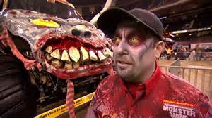 monster jam zombie freestyle orleans feb 23 2013
