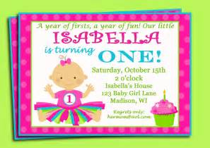 1st Birthday Invite Templates by Birthday Invite Wording Template Best Template