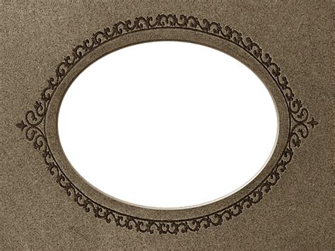 Oval Mat For Picture Frame by Presentation Photo Frames Wide Oval Mat Style 20