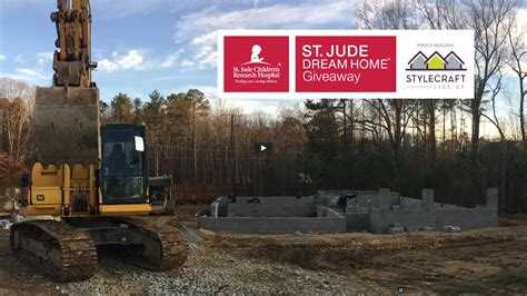 St Jude Giveaway - st jude dream home giveaway update building a strong foundation stylecraft homes