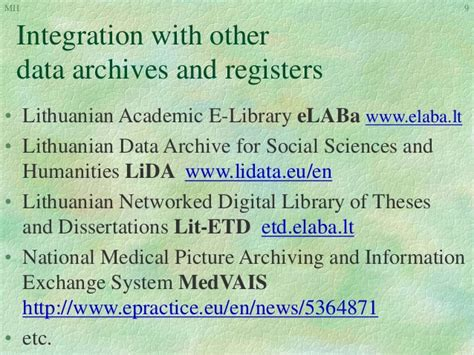national digital library of theses and dissertations national research data archive midas