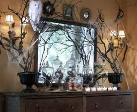 Creepy Home Decor by 30 Elegant Halloween D 233 Cor Ideas For The Mantel Family