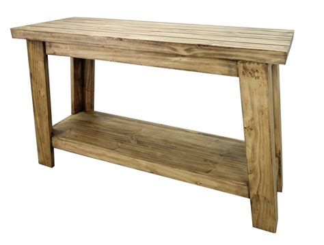 Rustic Pine Sofa Table Special Order Pine Sofa Tables