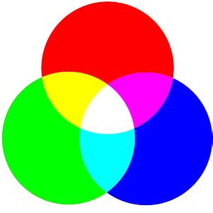 light primary colors colors