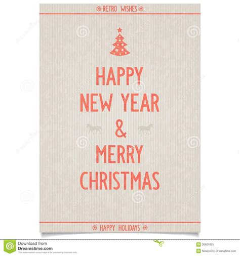 new year wishes for elderly vintage poster on paper for new year royalty free
