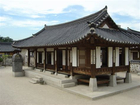 traditional korean house design gallery jeonju hanok village