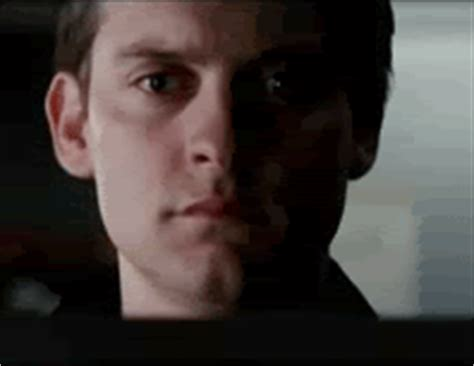 Crying Meme Gif - sad tobey maguire gif find share on giphy