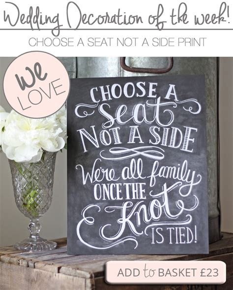 choose a seat not a side wedding sign choose a seat not a side wedding sign the wedding of my
