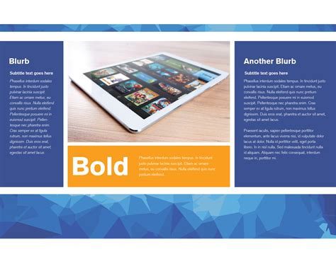 premium brochure template creative beacon