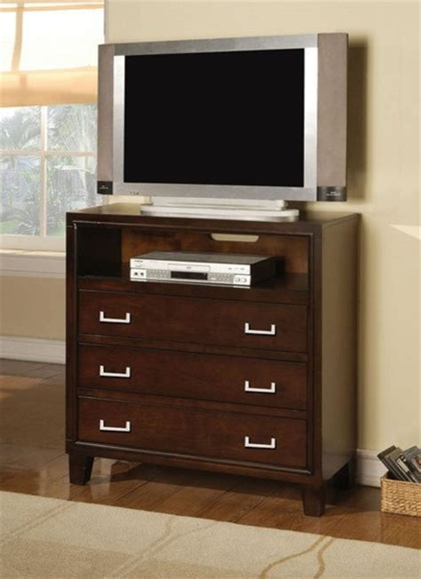 Tv Chest With Drawers by Acme Furniture Espresso 3 Drawers Tv Console