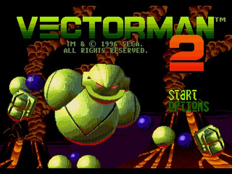 vectorman   game gamefabrique