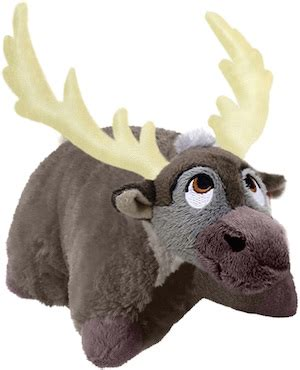 Sven Pillow Pet by Frozen S Sven Becomes A Pillow Pet License Global
