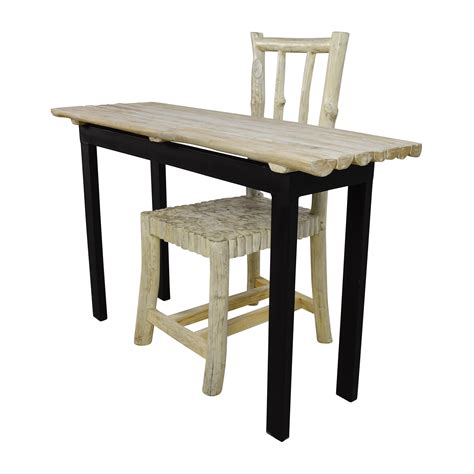 90 nadeau nadeau handcrafted rustic table and chair