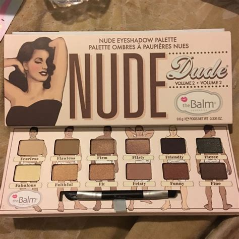 The Balm Apple 3 Dude Eyeshadow the balm dude palette muabs buy and sell makeup