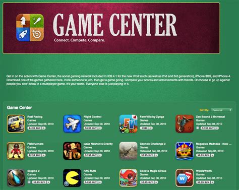 apple game center iphone apple game center