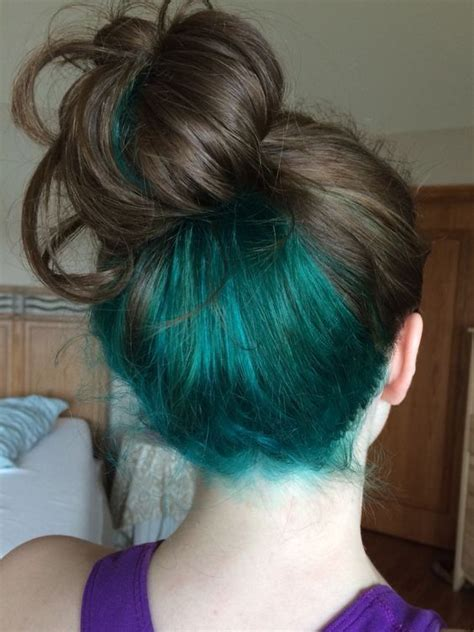 Coloring Only Bottom Of D Hair | best 25 dyed hair underneath ideas only on pinterest