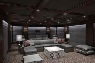 Home Theatre Interiors Ct Home Theater Contemporary Home Theater Other By
