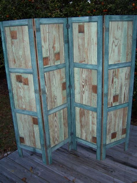 reclaimed wood room divider privacy screen reclaimed