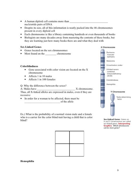 Section 14 1 Human Heredity by Biology Chp14 Human Heredity Notes