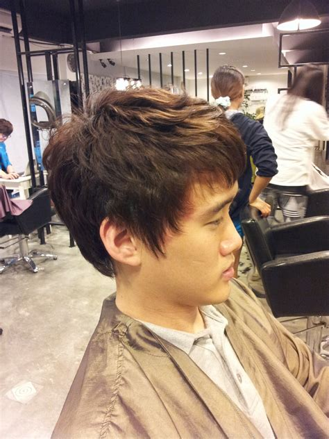 men getting hair perm korean man style soft body perm 171 yoo jean s hair salon