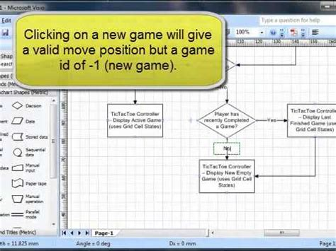 design game c tic tac toe part 2 flow chart design youtube