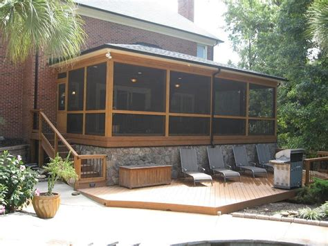 Screened In Deck Cool Covered Patio Ideas For Your Home Homestylediary